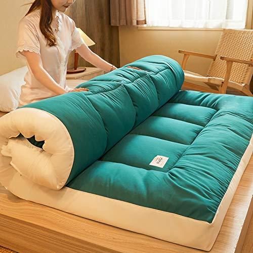 KMatratze Colchón Tatami Soft Futon Matter Futon Tatami, Futón Colchón para Dormitorio Estudiantil, Futón Plegable para el Colchón de Alquiler de Hogar (Color : D, Size : 150x200cm)