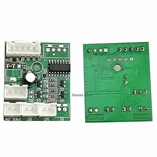 MOZUSA DC 3V / 5V Watch Winder Control Control Tablero de circuitos de la Cadena automática Renunda de Cadena Individual/Doble Mantenimiento Mantenimiento DC Motor Module