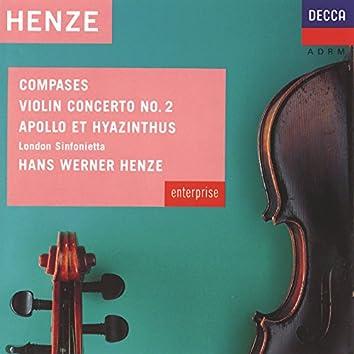 Henze: Compases; Violin Concerto No.2 Etc.