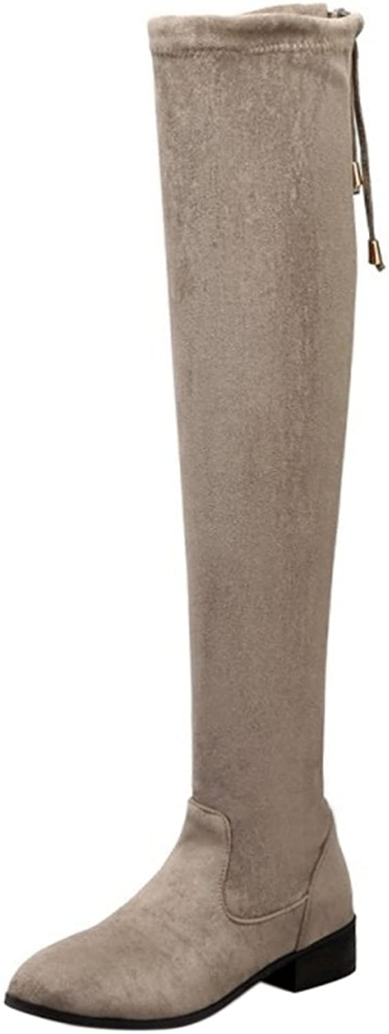 RizaBina Women Winter Over Knee Boots
