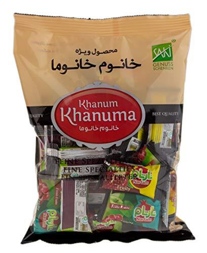 Khanum Khanuma- getrockneter Obst-Mix Lavaschak verschiedene Obstsorten als Fruchtmus