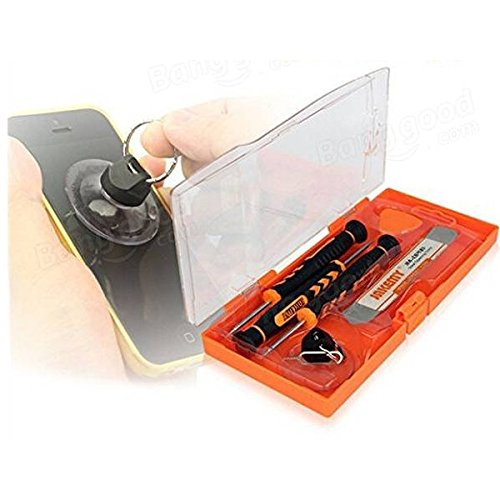 JAKEMY jm-8141 7 en 1 Jeu de tournevis démontage Outil d'entretien professionnel outil d'installation