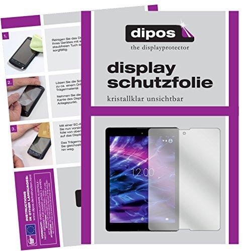 dipos I 2X Schutzfolie klar kompatibel mit Medion Lifetab P9702 Folie Displayschutzfolie
