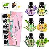 Aceites Esenciales para Humidificador Aceite Esencial 100% Naturales...