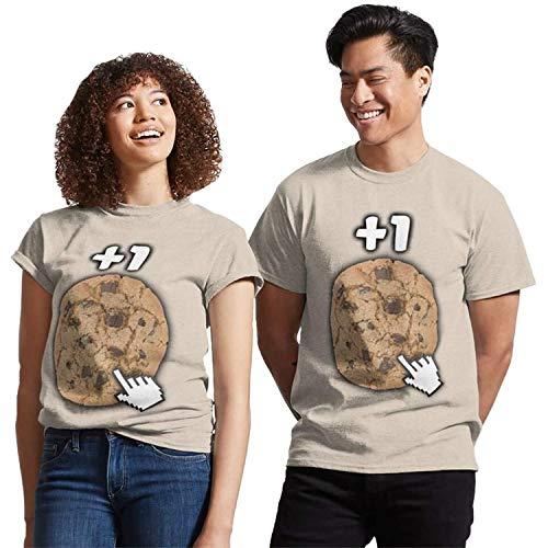 Cookie clicker Unisex t Shirt, Tank top, Hoodie, Long Sleeve, Sweatshirt for Men Women dq DMN11 t-Shirts, Hoodie Black