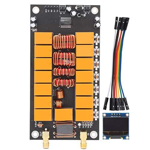 Dpofirs Tablero sintonizador de Antena ATU-100 con Pantalla, versión terminada Kits de Bricolaje Componentes del probador 400mA, Tablero de Doble Cara de 1,6 mm de Espesor, Mejor disipación del Calor