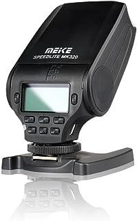 وميض كاميرا ميك، مصباح السرعة TTL مع شاشة LCD ونظام حماية من الحرارة الزائدة لكاميرا Sony Mini Hot Shoe DSLR والكاميرات غي...
