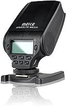 Meike MK320 M4/3 syetem TTL Flash Speedlite for Panasonic Lumix DMC GF7 GM5 GH4 GM1 GX7 G6 GF6 GH3 G5 GF5 GX1 GF3 G3, Olympus OM-D E-M5 II E-M10 E-M1 Pen E-PL2/3/4/5/6/7 E-P5 E-PM2 E-P3 E-PL3 Cameras