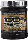 Scitec Nutrition Creatine Monohydrate - Sin sabor - 500 gr - 3 Meses - Suplemento Deportivo. Mejora Fuerza y Resistencia. Comprar Creatina Barata.