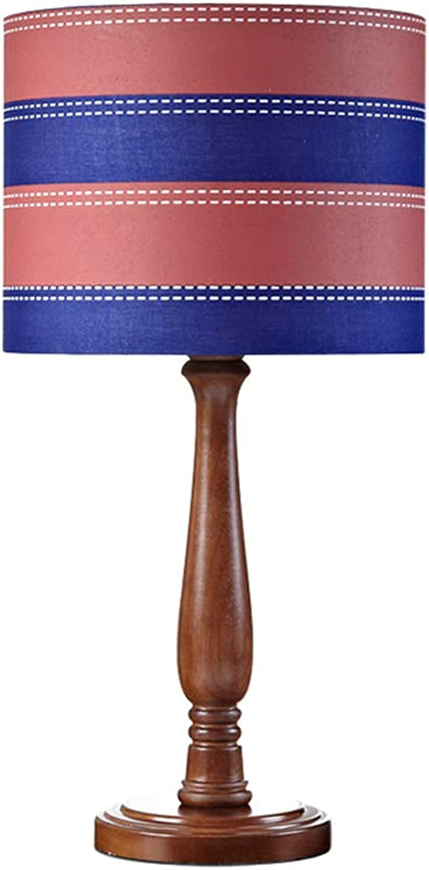 LCSHAN Retro Retro Retro Holz Tischlampe Kinderzimmer Schlafzimmer Nachttischlampe Kreative LED Taste Nachtlicht (Farbe   H) B07MYQRSL9     | Schöne Kunst  4c91ad