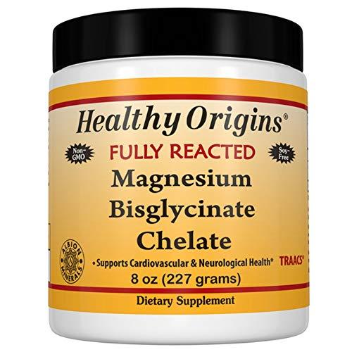 Healthy Origins Magnesium Bisglycinate Chelate - 8 oz (227 g) - vegan - glutenfrei - sojafrei