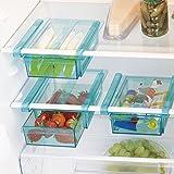 Cajón de sujeción, transparente para almacenamiento de los alimentos pequeños y sueltos, 20,5 x 15 x 7 cm