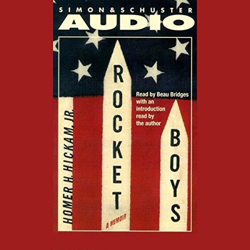 Rocket Boys audiobook cover art