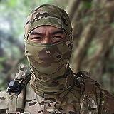 Peanutaod Tarnung-Armee-Radfahrenmotorrad-Kappen-Sturmhauben-Hut-volle Gesichtsmaske für Wargame-Universal-Tarnungmaske im Freien