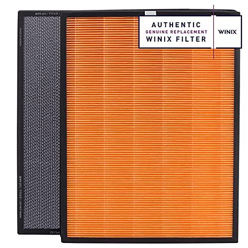 Winix Replacement Filter T for HR950, HR1000, Zero Plus, Zero Pro Air Purifiers HEPA Activated Carbon