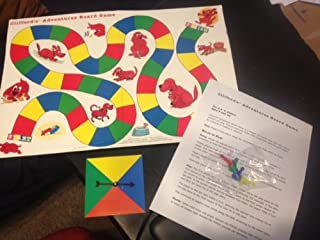 Clifford's Adventures Board Game