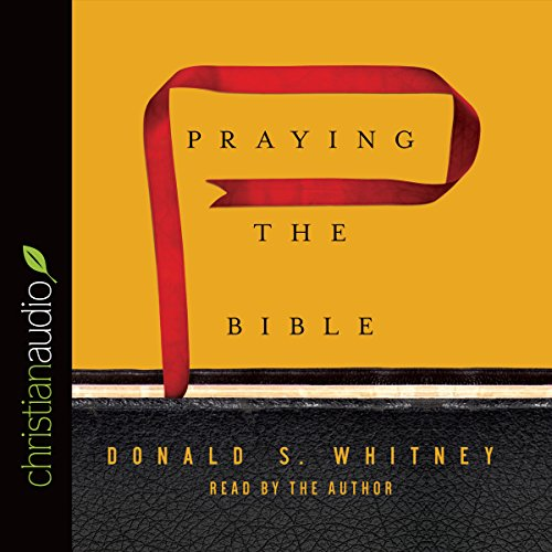 Praying the Bible cover art