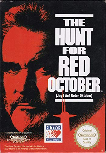 The Hunt for the Red October - Jagd Auf Roter Oktober (Nintendo NES) lose