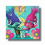 Trolls 11.8'' Handmade Wall Clock - Get unique décor for home or office – Best gift ideas for kids, friends, parents and your soul mates