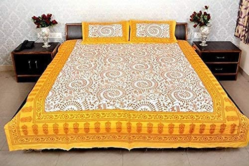 SataanReaper Presents 100% Cotton 1 Pillo Max 62% OFF Double with 2 Bedsheet Al sold out.