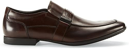 Kenneth Cole Reaction Men& 039;s Page Boy braun Leather Loafer 9.5 M US