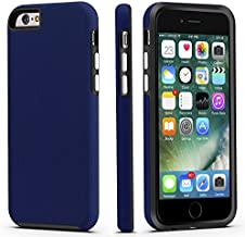 CellEver iPhone 6 / 6s Case, Dual Guard Protective Shock-Absorbing Scratch-Resistant Rugged Drop Protection Cover for Apple iPhone 6 / 6S (Navy Blue)