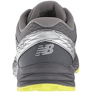 New Balance Men's Summit K.O.M. V1 Trail Running Shoe, Grey, 9 2E US