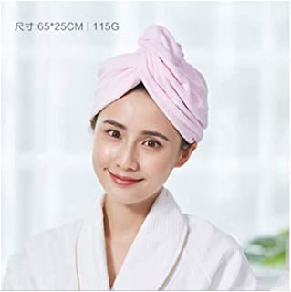 Le Griffiths, Thick Dry Hair Cap, Dry Hair Hat Lovely Woman, Strong Absorbent Dry Hair Cap, Length of Hair Shampoo Hair Rub Shower Cap Quick-Drying Towel Baotou, A Variety of Optional