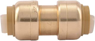 SharkBite 1-Inch Straight Coupling, Push-to-Connect, PEX, Copper, CPVC