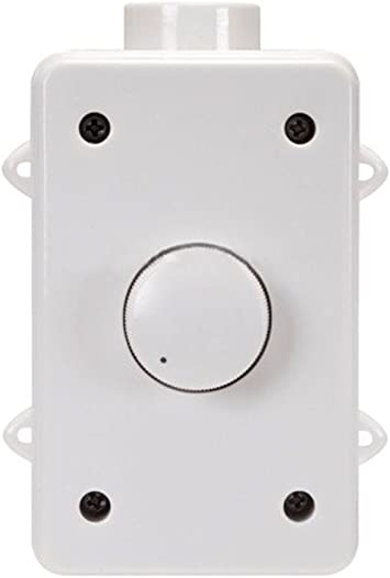 Monoprice 8 RMS 8W Outdoor Speaker Volume Controller, White