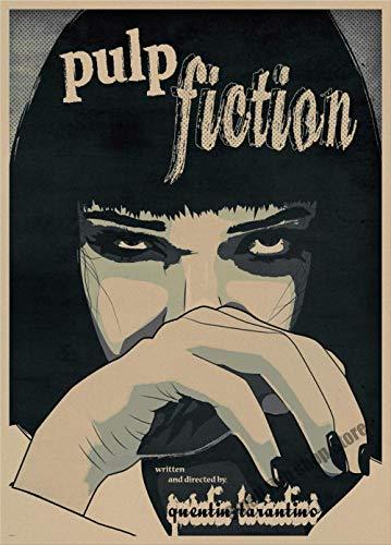 Pulp Fiction B Sammeln Retro Poster Retro Kraftpapier Bar Cafe Home Decor Malerei Wandaufkleber