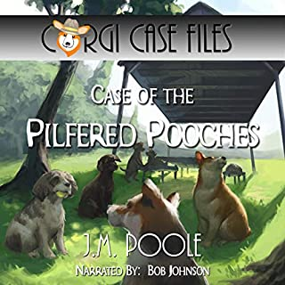 Case of the Pilfered Pooches audiobook cover art