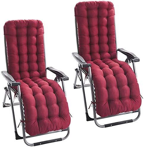 Cojín de tumbona de 2 piezas con 6 pares de correas y una cubierta antideslizante para la cabeza(sin silla) Rojo, debido al bajo inventario / gran promoción, entrega en el almacén en el extranjero