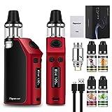 120W 2200mah Cigarette électronique Kit complet avec quatre bouteilles E-liquide Flux d'air inférieur Goût accrue Sans...
