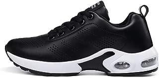 SKLT Pu Air Cushioning Running Shoes for Women Fashion Sneakers Non Slip Lightweight Soft Casual Jogging Walking Sport Shoes