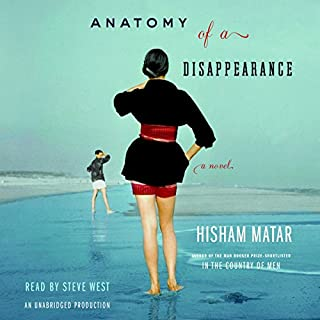 Anatomy of a Disappearance audiobook cover art
