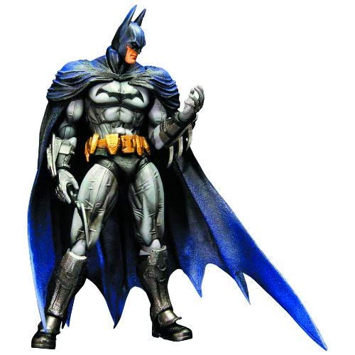 Batman - Action Figure di Barman Arkham City, Versione Play Arts Kai