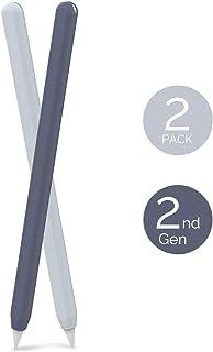AHASTYLE Apple Pencil Hülle Silikon Apple Pencil Case Ultra Dünn Apple Pencil Abdeckung Kompatibel mit Apple Pencil 2. Gen...