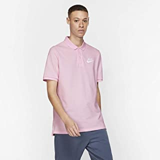 Nike Men's NSW CE Polo MATCHUP PQ, Pink(Pink Foam/ White663), 2X-Large