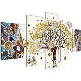 Bilder Gustav Klimt Baum des Lebens Wandbild 200 x 100 cm