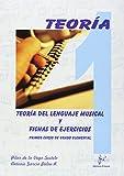 Teora del lenguaje musical y fichas de ejercicios, 1 grado elemental