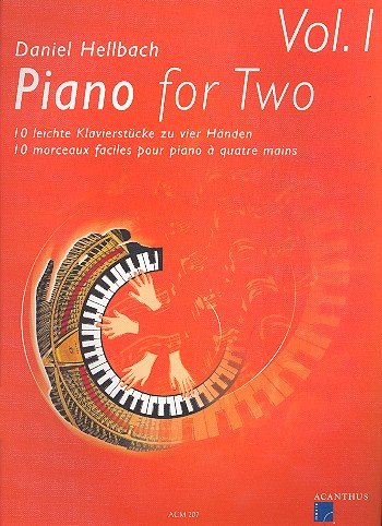 Piano for Two vol.1 : 10 leichte