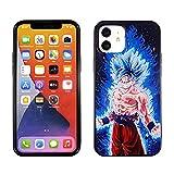 iPhone 12 Mini 5.4 Inch TPU Case CASEVEREST 3D Print Design Slim Fit Cover iPhone 12 Mini Dragon Ball Son Goku Super Z