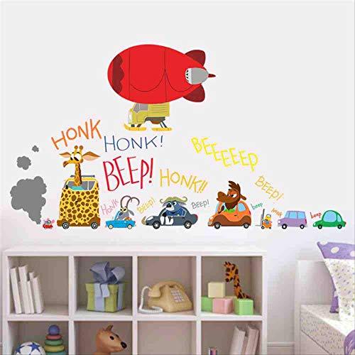 JPDP De nieuwste film Zootopia muursticker Cartoon auto vliegtuig voor kinderkamer film aftrekplaatjes Nick Fox Judy Rabbit verzamelen geschenken