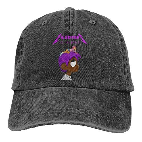 Gerneric Fashion Lil-Uzi-Vert Funny Pattern Adjustable Unisex Hat Baseball Caps Black