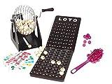 Outletdelocio Loteria-Bingo de Gran robustez, Hecho en Madera y Metal. 90 Bolas de Madera Maciza....