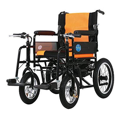 Elektrischer Rollstuhl Faltbar Leicht mit Joystick Elektromobil Klappbar Intelligenten Ältere Menschen & Deaktiviert Roller, Last 100kg Gute Qualität