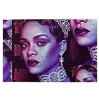 1000 ピース ジグソーパズル,Rihanna リアーナ Picture Puzzle 大人 子供 の 木製パズル ジグソーパズル 知育減圧親子ゲーム 玩具クリスマス誕生日diyギフト クリスマス プレゼント ジグソーパズル