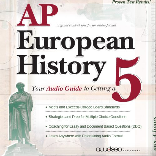AP European History 2009 audiobook cover art