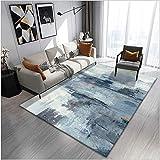 MLKUP Teppichbereich Teppich geometrisches Schlafzimmer Wohnzimmer Wohnzimmer Hauptdekoration rutschfeste Bodenmatte/Größe:180x280cm